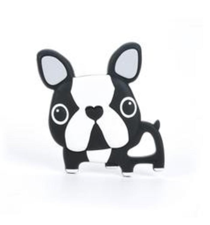 Loulou Lollipop LOULOU LOLLIPOP BOSTON TERRIER TEETHER