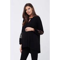 Ripe Maternity hi Low Nursing Blouse, CR