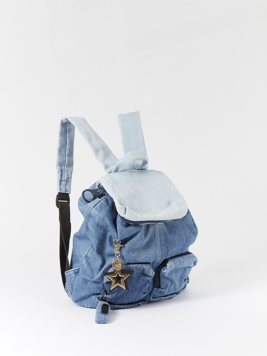 d504ee61863ae See By Chloé Denim Backpack