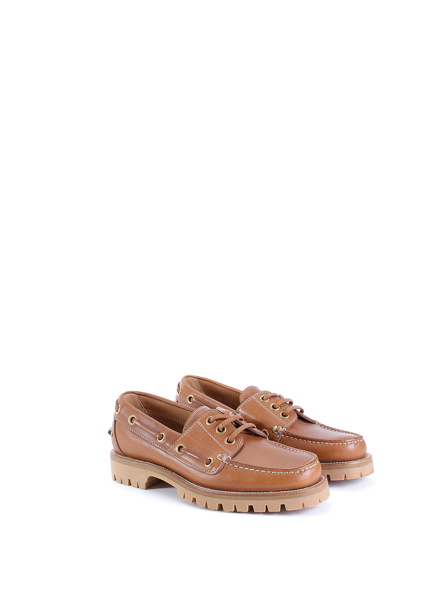 Gucci Leather Boat Shoes   RUSE