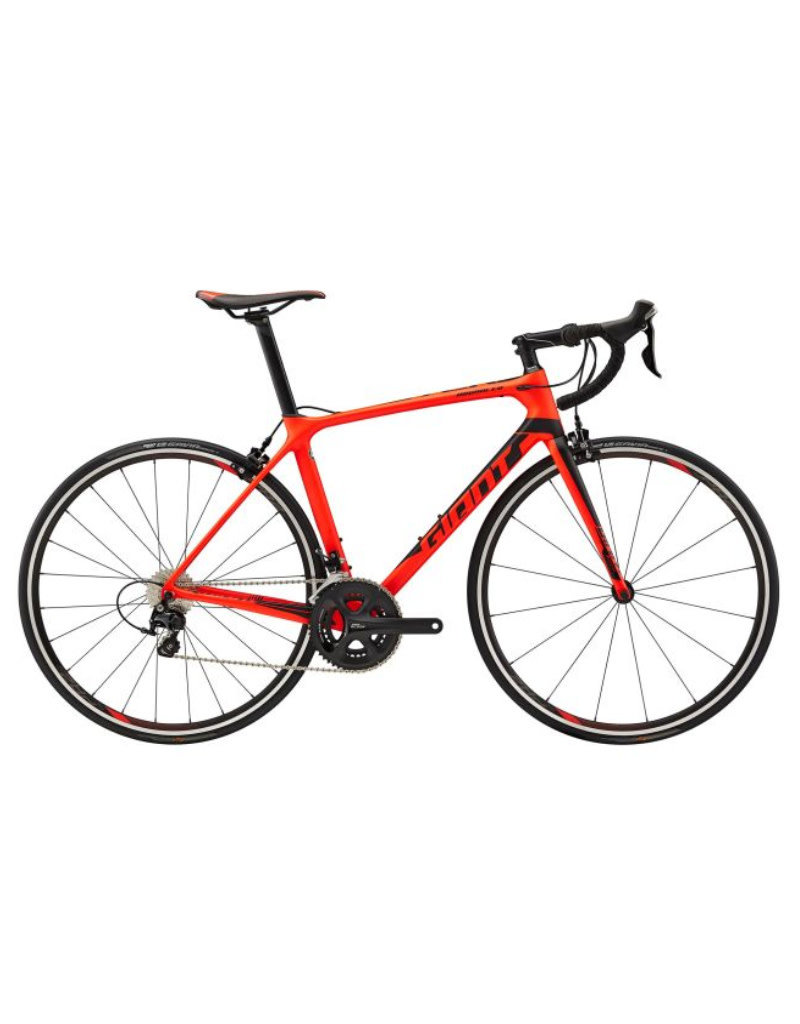 Giant TCR Advanced 2 S Matte Neon Red/Black