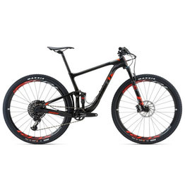 Giant 2018 Anthem Advanced Pro 29er 1 L Matte Smoke/Neon Red/Silver