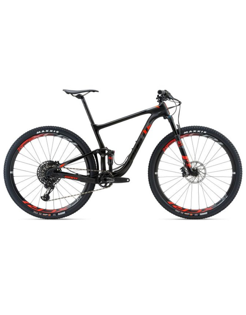 Giant Anthem Advanced Pro 29er 1 L Matte Smoke/Neon Red/Silver