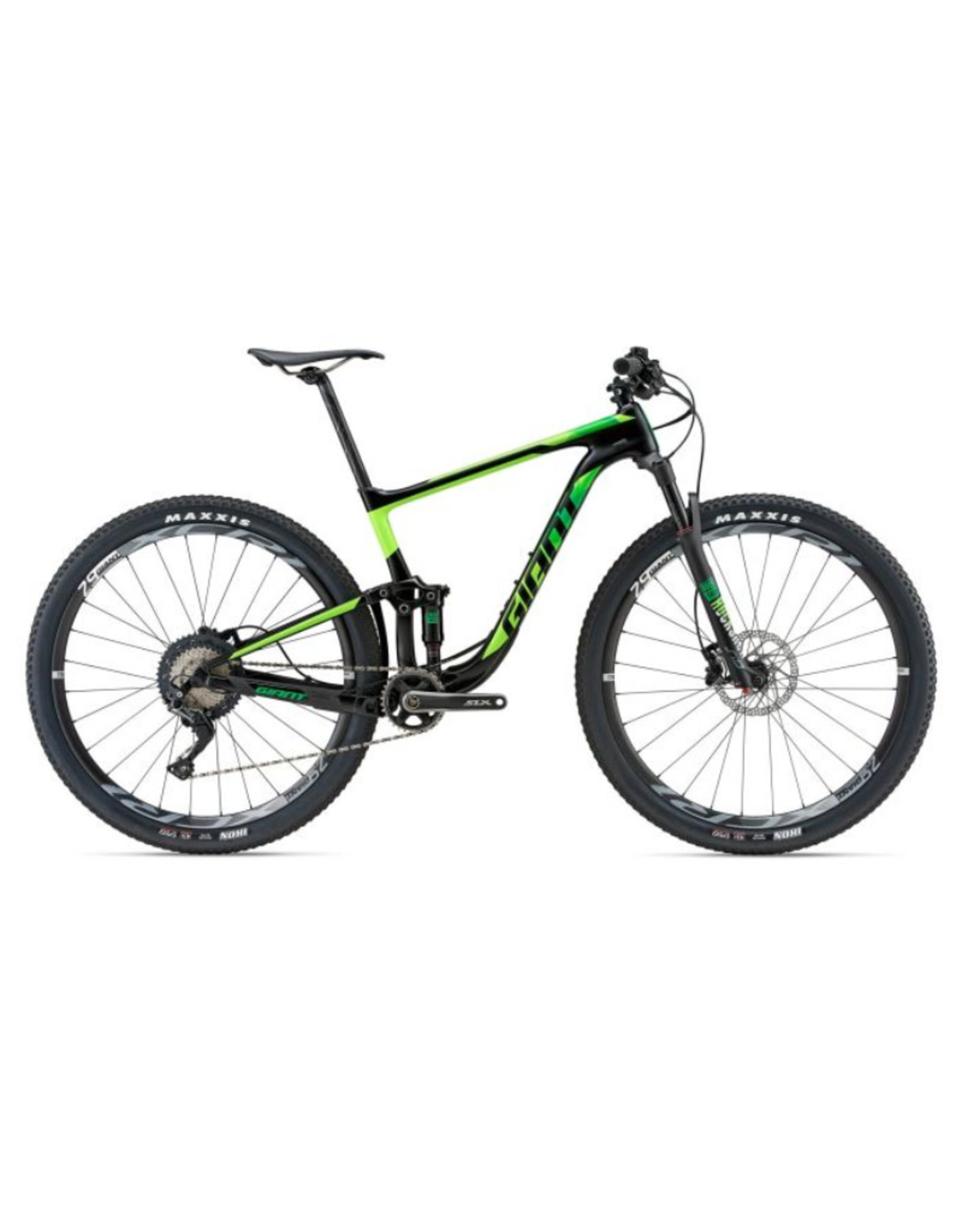 Giant Anthem Advanced 29er 1 M Satin Black/Neon Green/Yellow