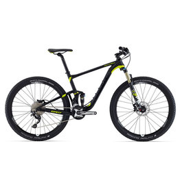 Giant 2016 Anthem 27.5 2 L Matte Black/Charcoal/Yellow