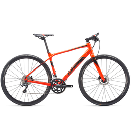 Giant 2019 FastRoad SL 1 ML Neon Red/Black Chrome
