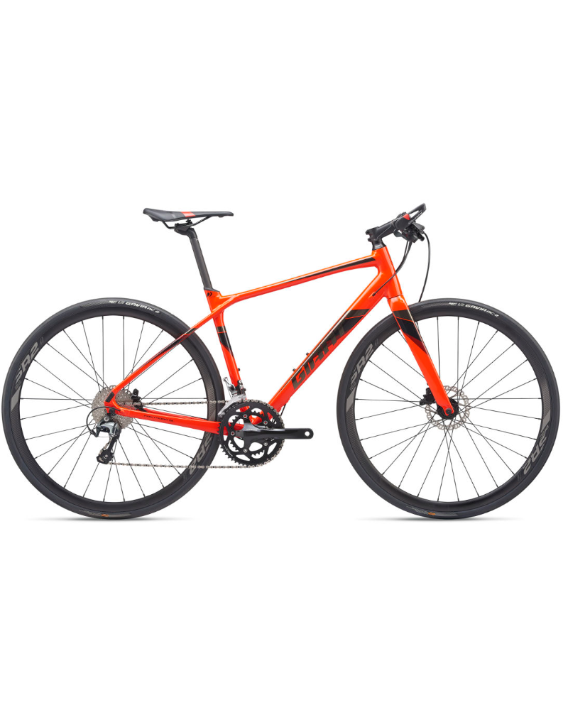 Giant FastRoad SL 1 ML Neon Red/Black Chrome