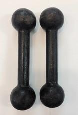 Vintage French Iron Dumbells