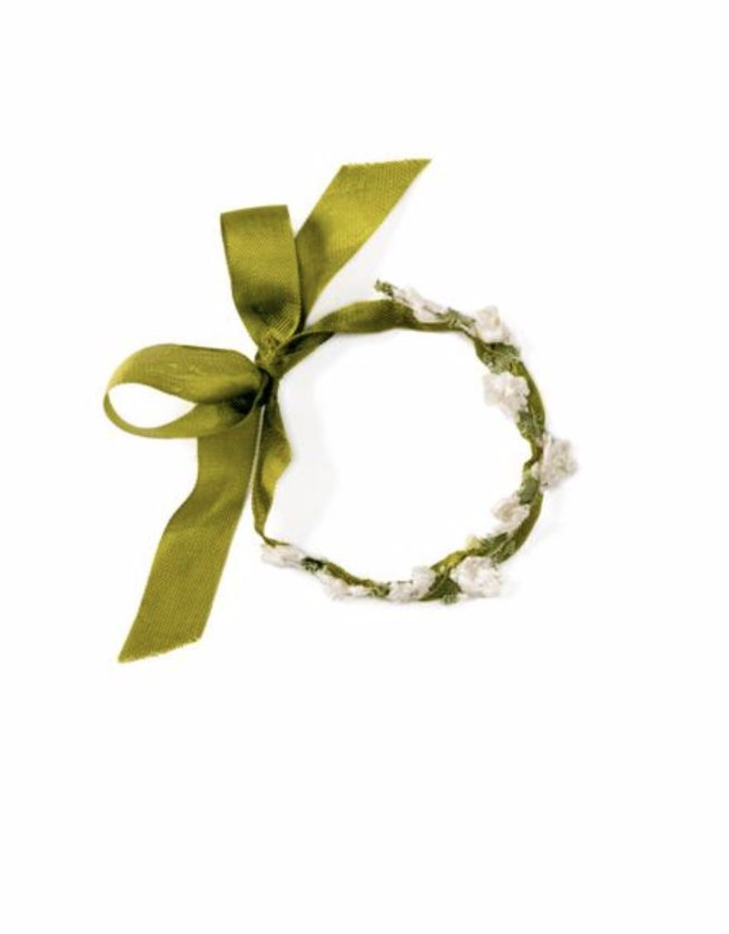 Hazel Village Flower Crown For Dolls- Ivy Green