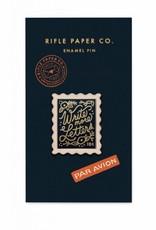 Rifle Paper Co Stamp Enamel Pin