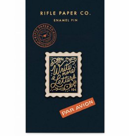 Rifle Paper Co Stamp Enamel Pin