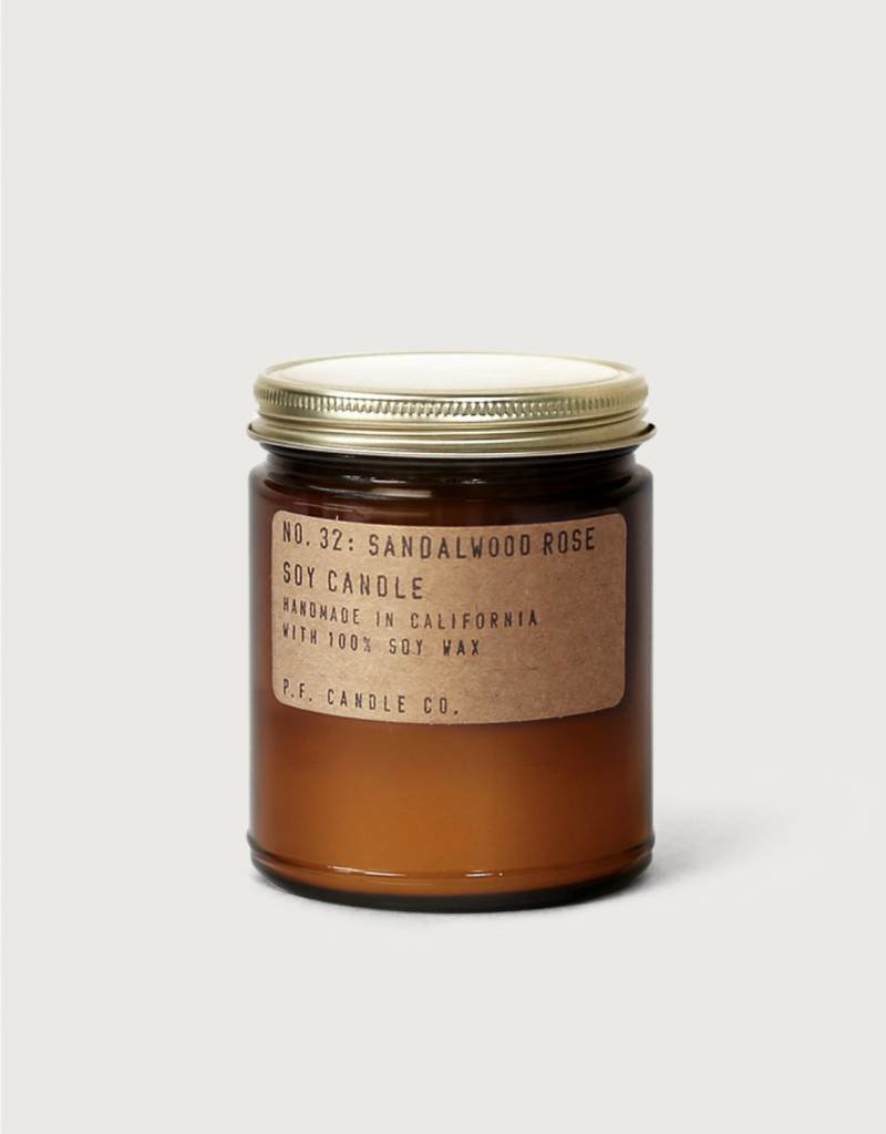 NO. 32 Sandalwood Rose 7.2 oz Soy Candle
