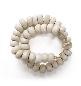White Bone Beads
