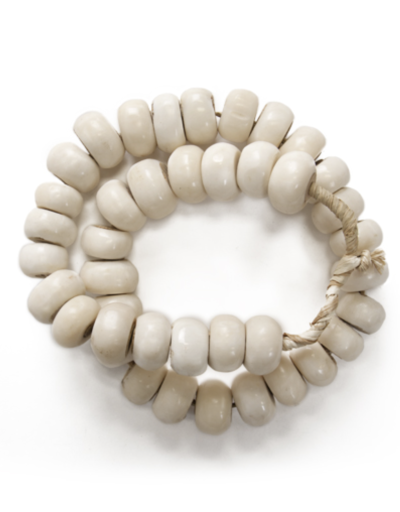 Bliss Studio White Bone Beads