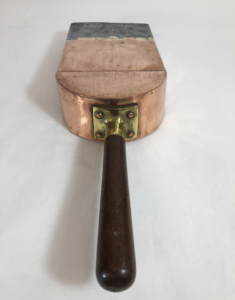 English Copper Scuttle Shovel