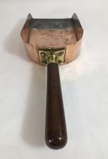 Vintage English Copper Scuttle Shovel