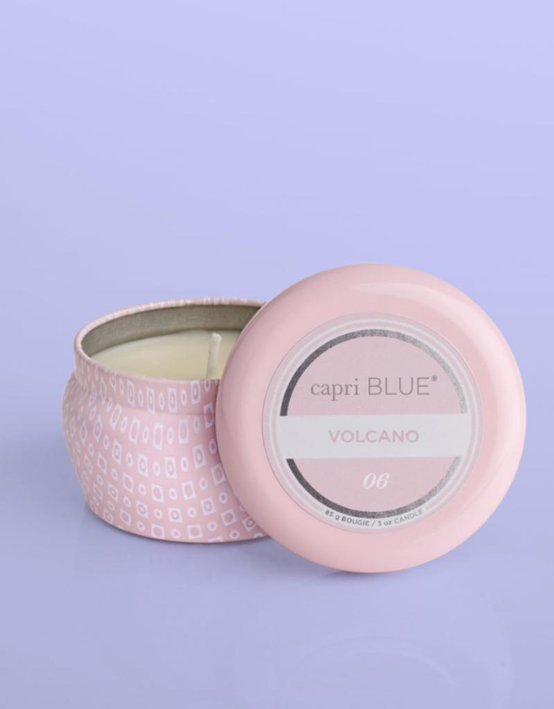 capriblue Volcano Bubblegum Mini Tin Candle