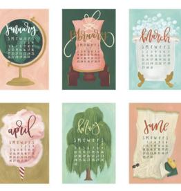 1canoe2 2020 XL Wall Calendar Refill: Getaways