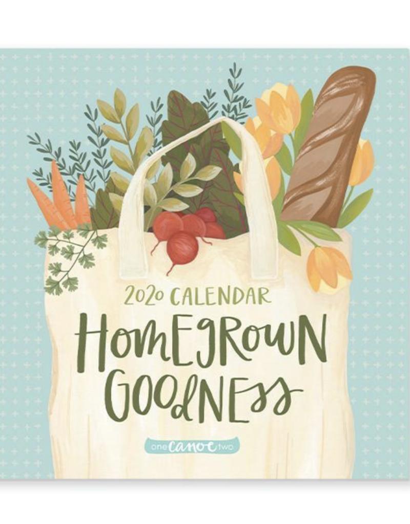 1canoe2 Homegrown Goodness Calendar 2020