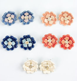Susan Gordon Spring Flower Statement Studs