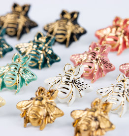 Susan Gordon 3D Bee Studs