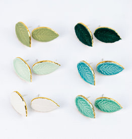 Susan Gordon Leaf Studs