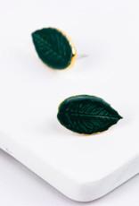 Susan Gordon Leaf Studs