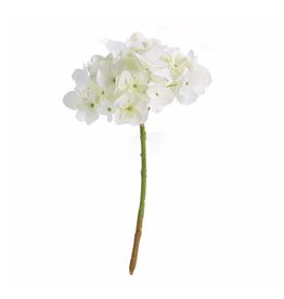 "Hydrangea Stem 11"" White"