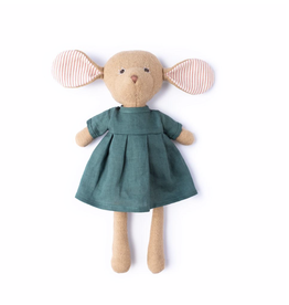Hazel Village Annicke Mouse in River Green Linen Dress