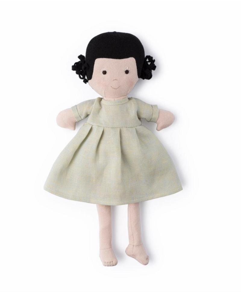 Hazel Village Nell in Dewdrop Linen Dress
