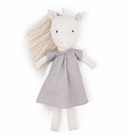 Hazel Village Peaseblossom Unicorn in Matallic Dress