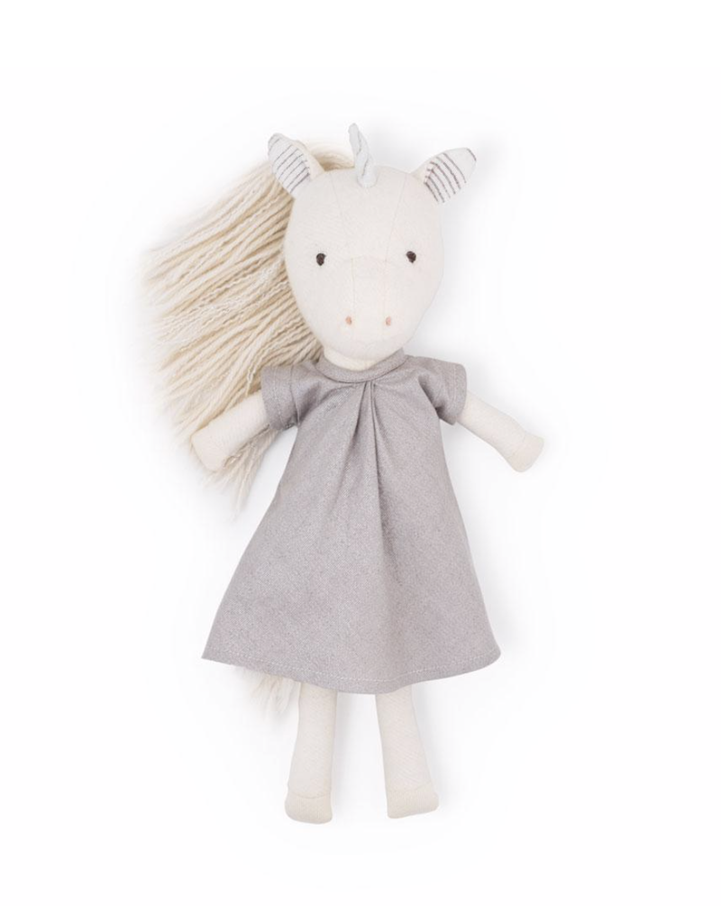 Hazel Village Peasblossom Unicorn in Matallic Dress