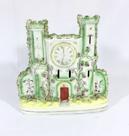 Vintage Porcelain Staffordshire Clock Tower