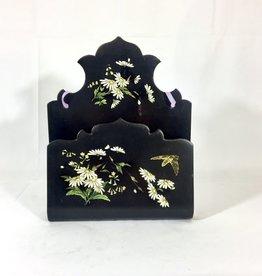 Vintage Painted Floral Letter Keep