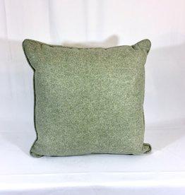 English English Wool Pillow Sham- Light Green