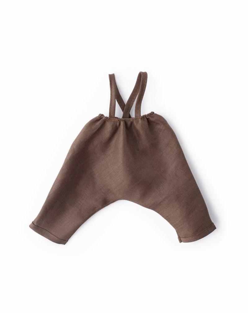 Hazel Village Linen Overalls For Dolls