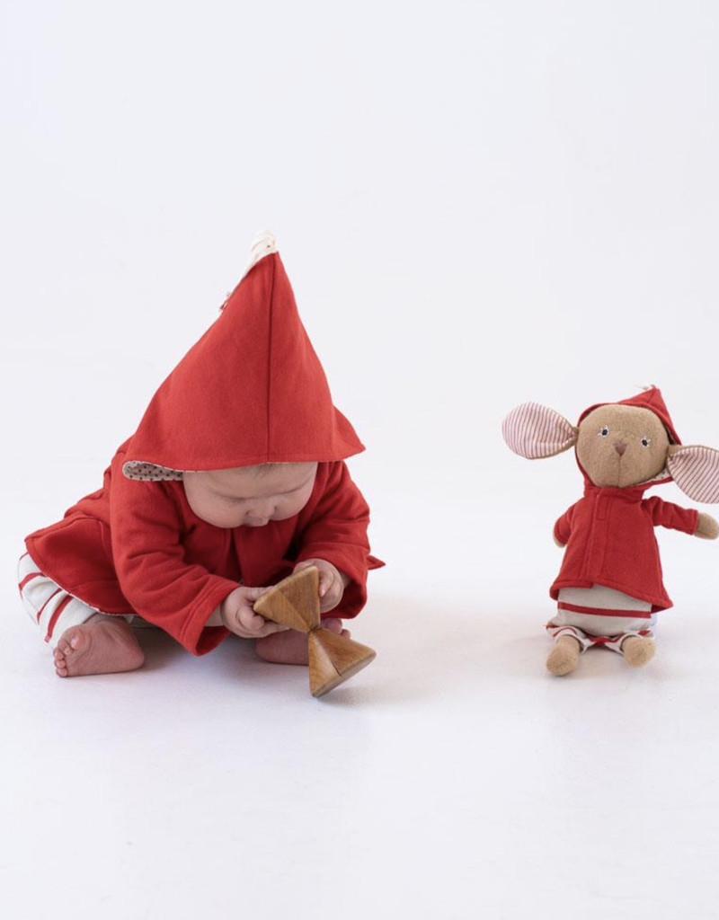 Hazel Village Cranberry Elf Jacket for Dolls