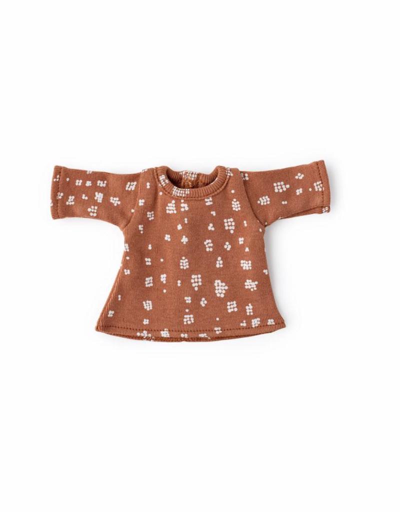 Hazel Village Fawn Spots Shirt for Dolls