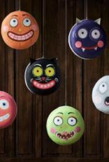 "Halloween Macaron 12"" - Orange Jack-O-Lantern"