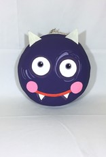 "Halloween Macaron 12"" - Purple Monster"