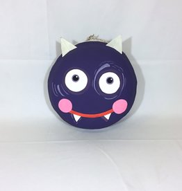 "Halloween Macaron 12"" - Purple Monster"