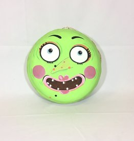 "Halloween Macaron 12"" - Green Witch"