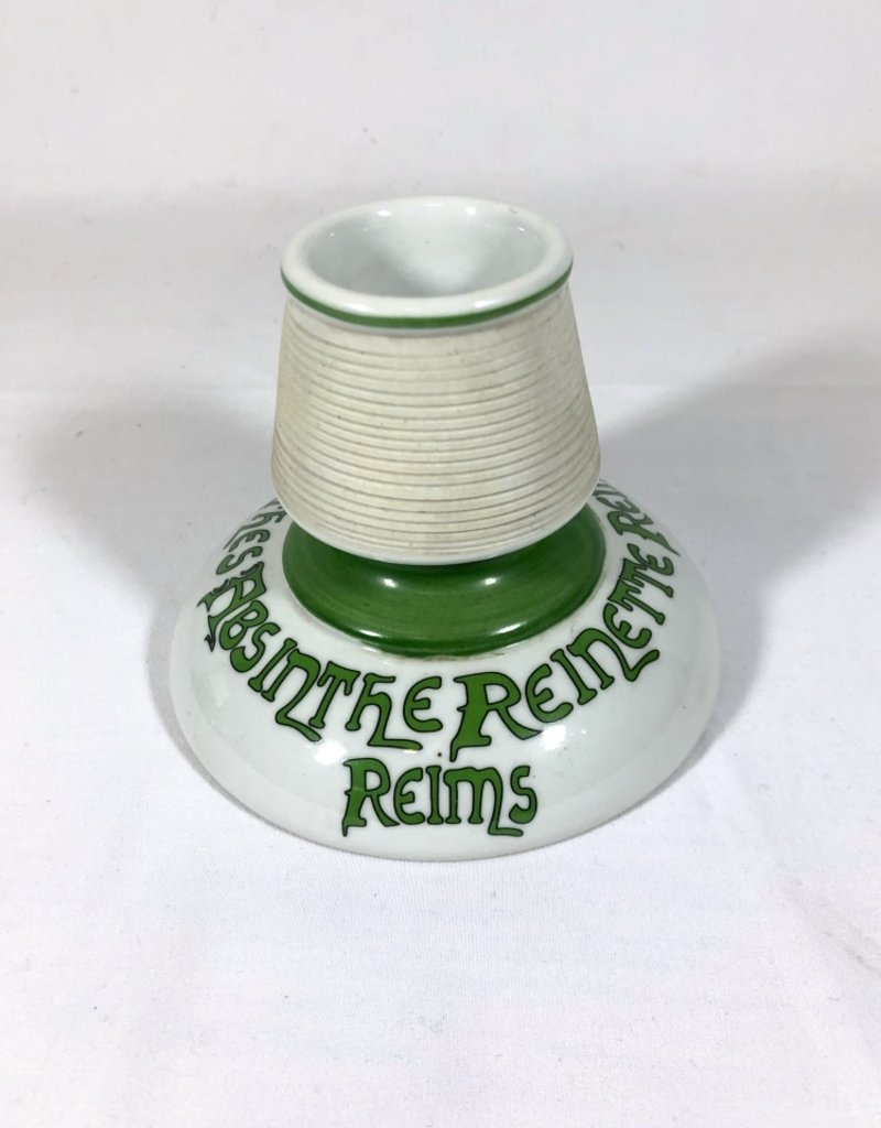 Vintage Antique Match Strike Kelly Green & White