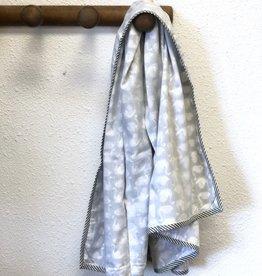 Mela & Roam Dohar Baby Blanket - Charcoal Swan
