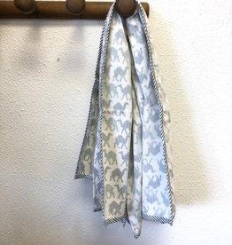 Mela & Roam Dohar Baby Blanket - Blue Chameau