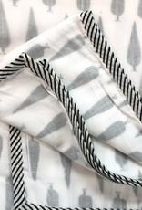 Mela & Roam Dohar Baby Blanket - Charcoal Cypress
