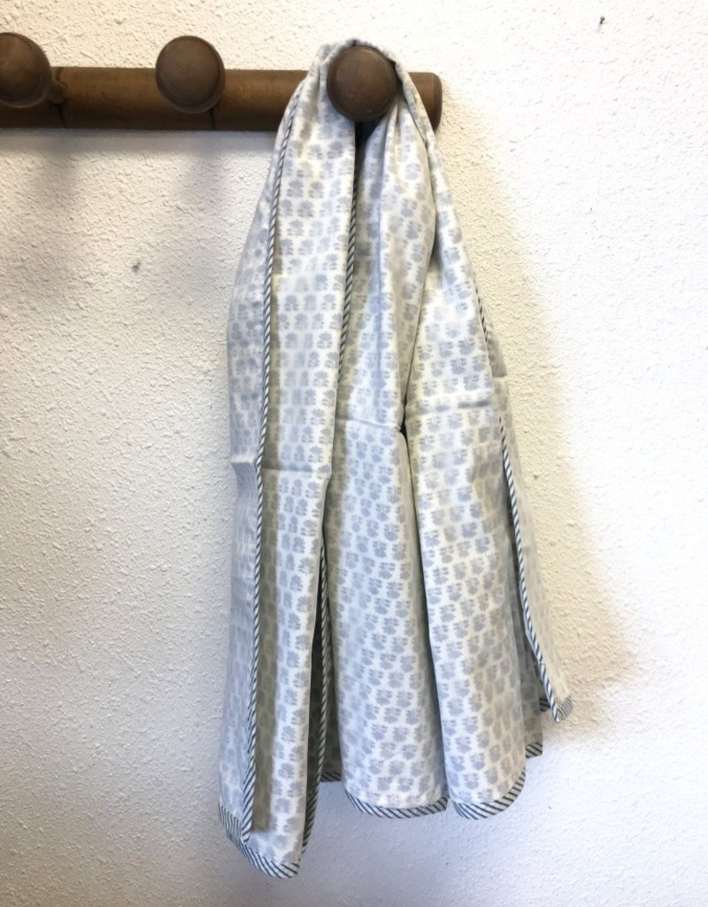 Mela & Roam Dohar Baby Blanket - Blue Liberty Buti