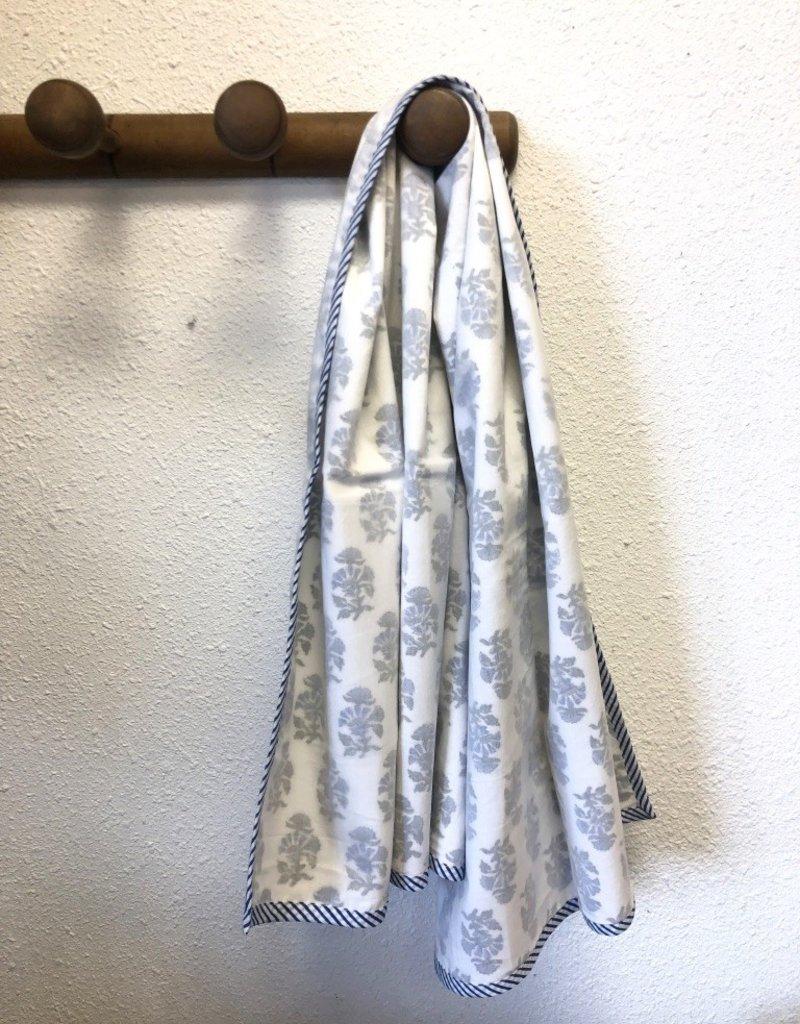 Mela & Roam Dohar Baby Blanket - Blue Albany