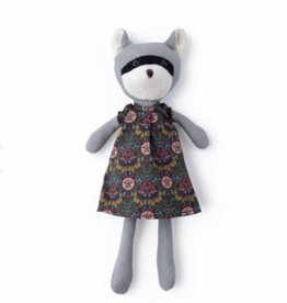 Hazel Village Gwendolyn Raccoon in Tea Party Dress