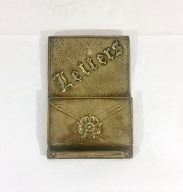 Vintage Vintage Brass Letter Keeper